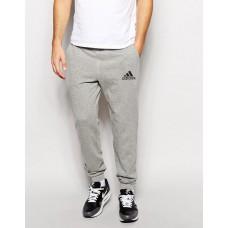 Мужские спортивные штаны Adidas Адидас серые (РЕПЛИКА)