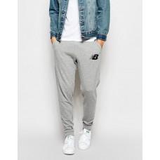 Модные спортивные штаны Nike New Balance Найк серые (РЕПЛИКА)