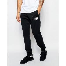 Модные спортивные штаны Nike New Balance Найк черные (РЕПЛИКА)