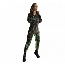 Женский камуфляжный приталенный весогоночный костюм
