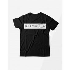 Черная футболка КОМЕТА