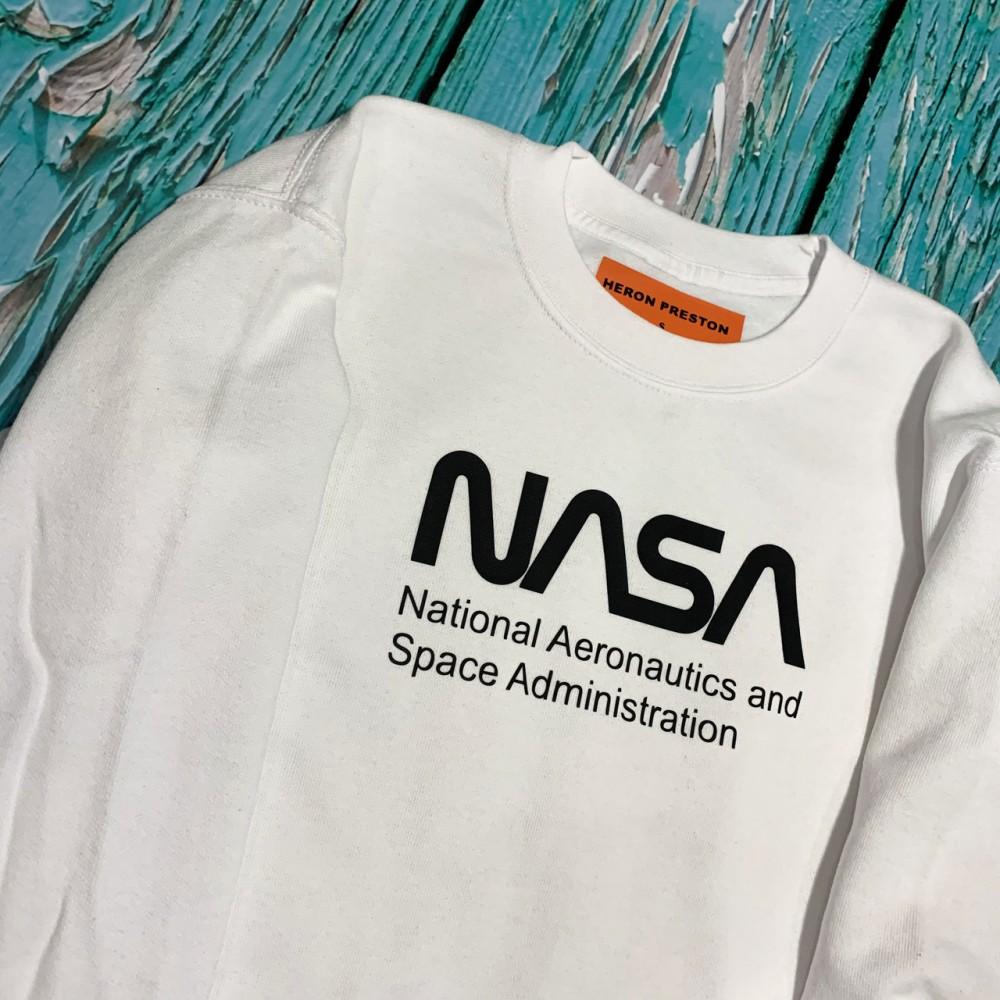 Свитшот белый NASA Na