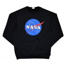 Свитшот чёрный NASA logo