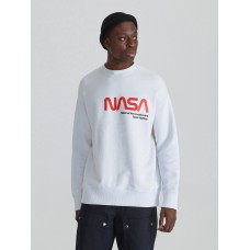 Свитшот белый NASA Re