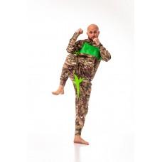 Костюм для сгонки веса Weight Killer зеленый комуфляж
